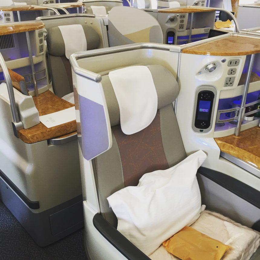 Emirates: A380 – Business Class
