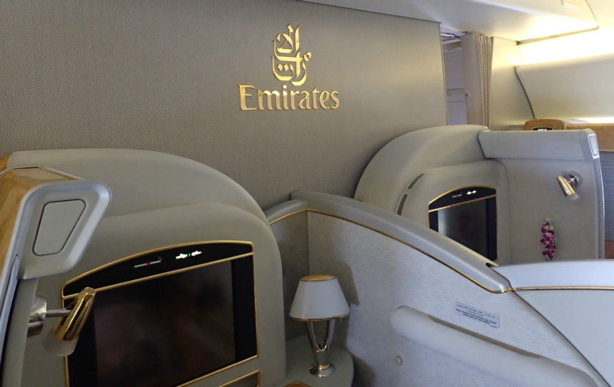 Emirates: 777 – First Class Suite