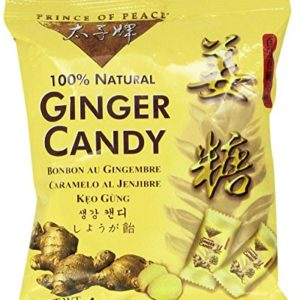 I keep Ginger candy with me in my jacket when I'm on the plane. It's great for digestion after having a meal, gives you fresh breath and fantastic for equalizing ears on the descent.