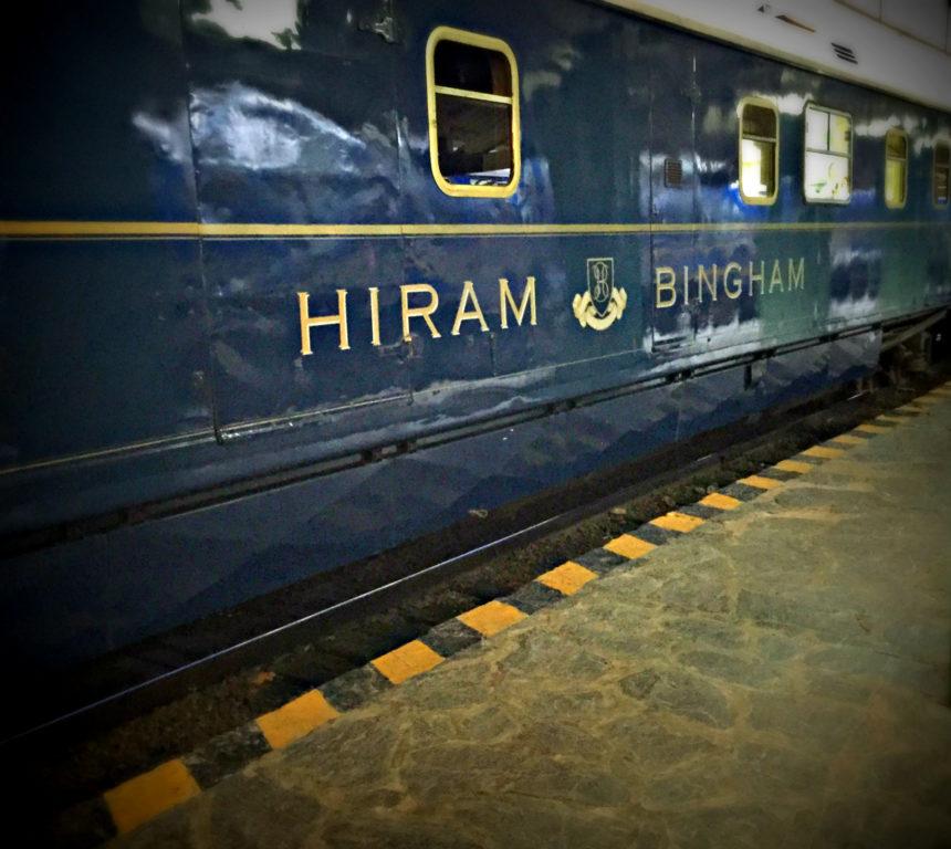 Belmond Hiram Bingham –   A Fancy Train in Cusco, Perú