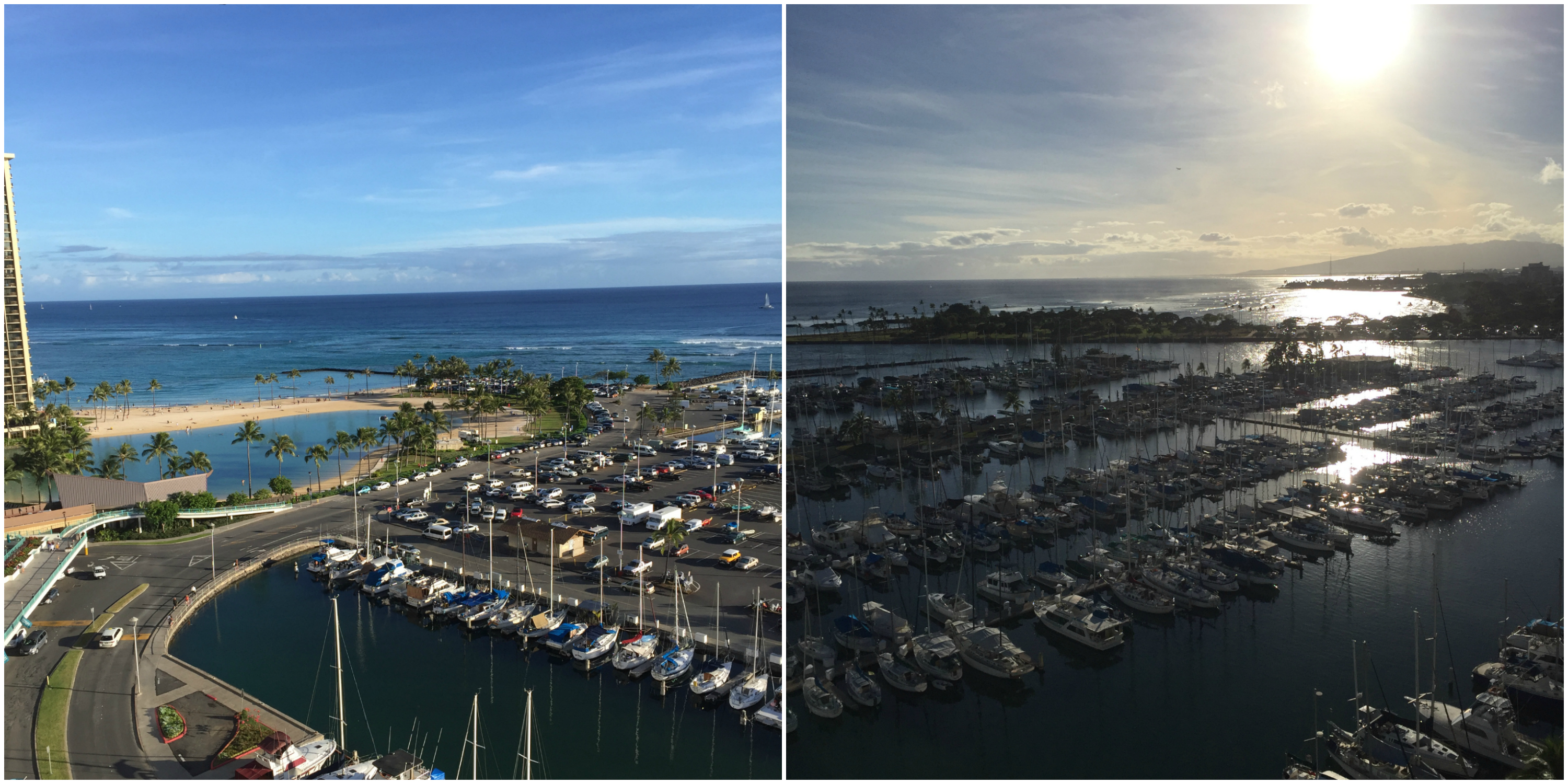 Fantastic views from day to sunset! This is Marina View Suite 1510!