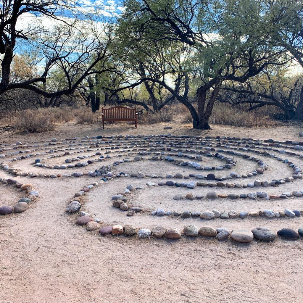 Canyon Ranch Tucson Labyrinth