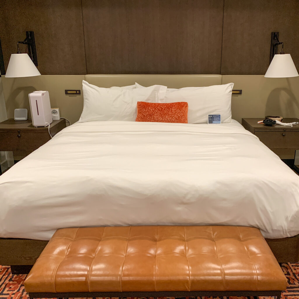 Canyon Ranch Tucson Executive Suite Bed