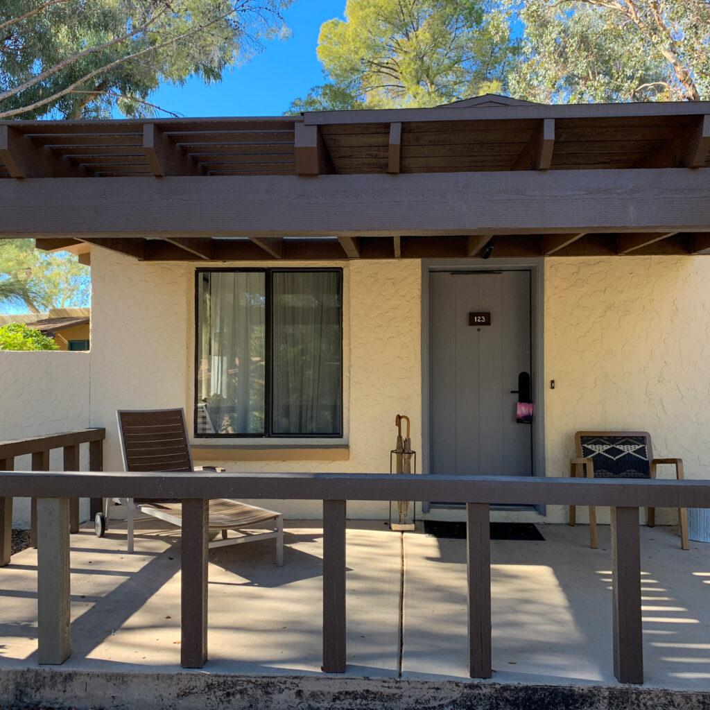 Canyon Ranch Tucson Executive Suite Patio